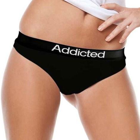 Tanga Addicted černá