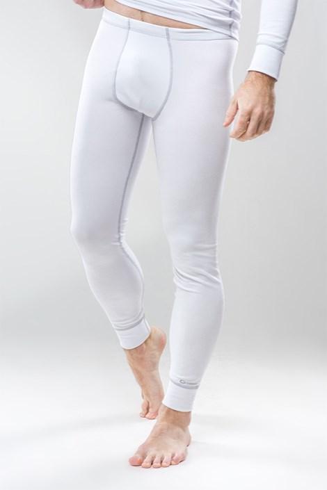 Termo kalhoty pánské Classic - bílé