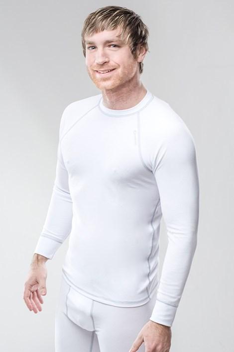 Termo triko pánské Classic - bílé