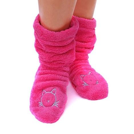 Hřejivé ponožky Duffy Pink