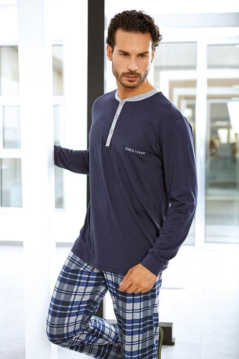 Pánský bavlněný komplet Flavio - triko, kalhoty