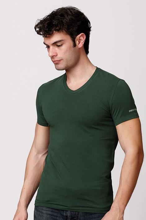 Pánské italské tričko Enrico Coveri ET1501 bavlněné