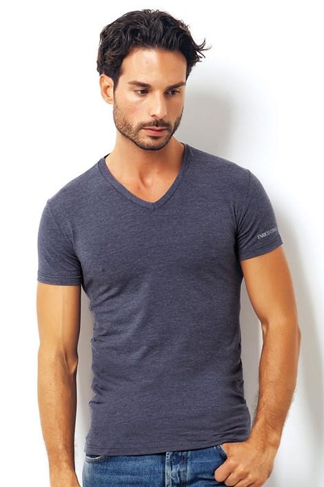 Pánské italské tričko Enrico Coveri 1505 Blue