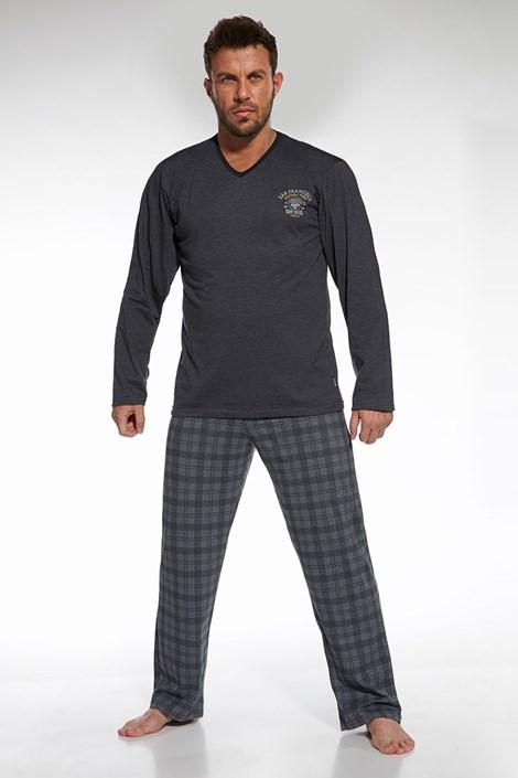 Pánské bavlněné pyžamo Forest 2