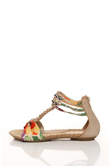 Barevné sandály