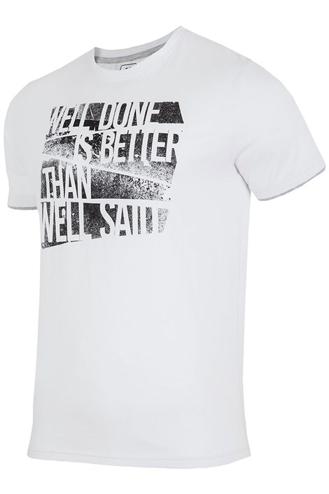 Pánské značkové tričko 4F TSM006 White