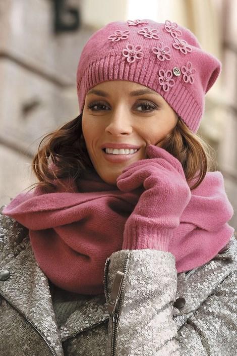 Dámská čepice Marianella Pink