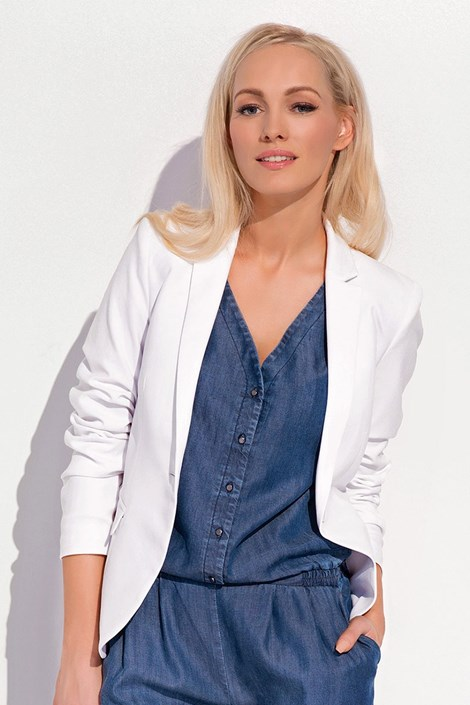 Dámské luxusní  sako Olena White