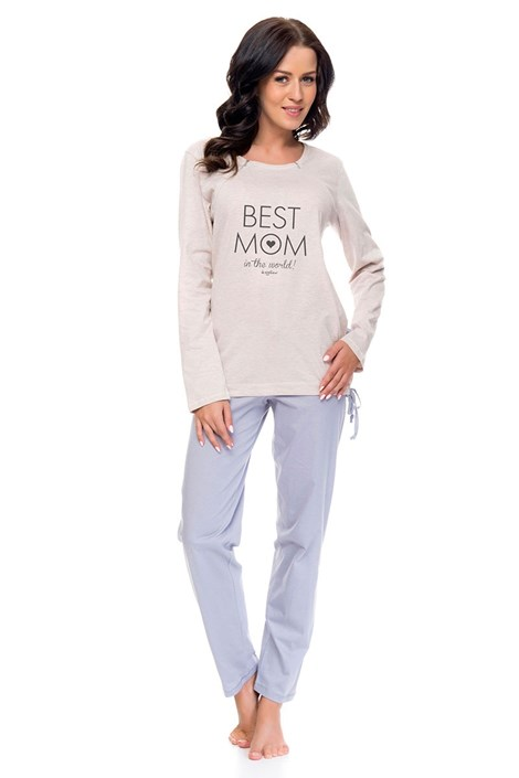 Dámské bavlněné pyžamo Best Mom