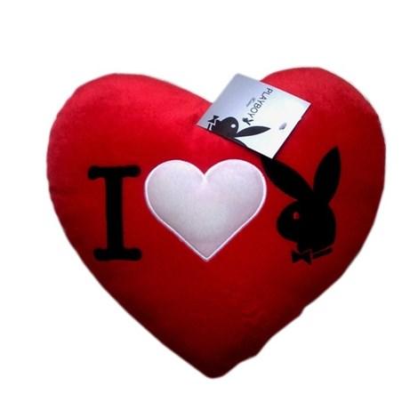 Polštářek Heart Bunny Red