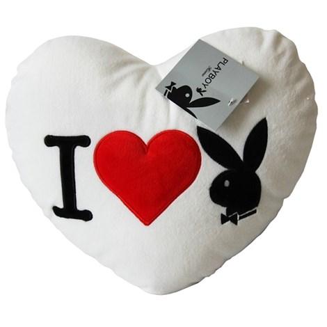 Polštářek Heart Bunny White
