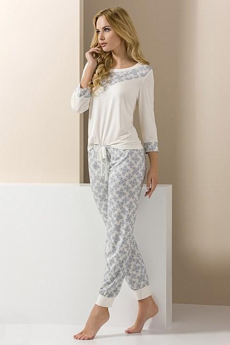 Elegantní dámské pyžamo Carol dlouhé