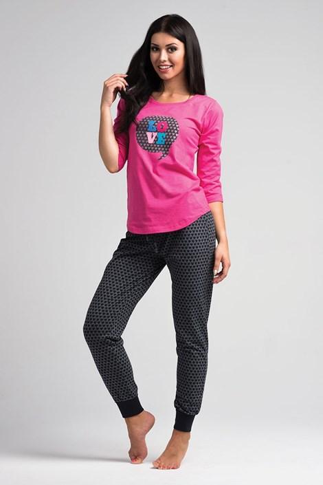 Dámské pyžamo Love Pink