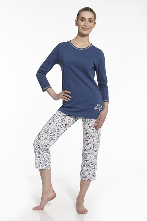 Dámské pyžamo Sara modré
