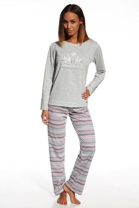 Dámské bavlněné pyžamo Snowflake