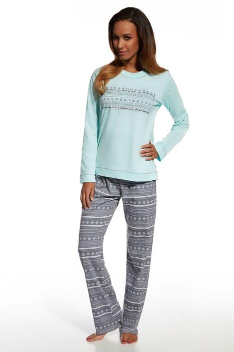 Dámské bavlněné pyžamo Stars 3
