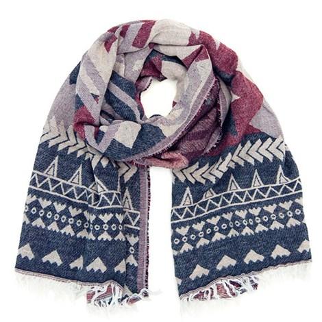 Hřejivý šátek Autumn v originálním designu