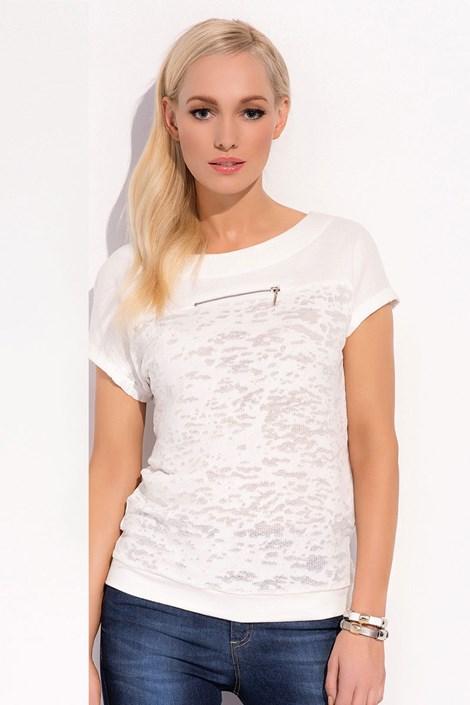 Dámské luxusní tričko Verona 006 lehce průhledné