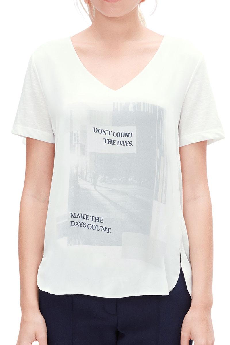 Dámské triko s potiskem V1 s.Oliver