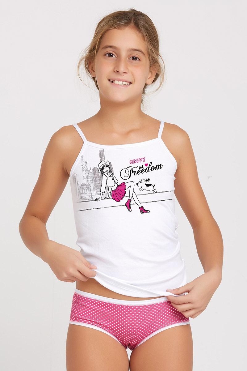 Dětský set kalhotek a tílka Marika Pink