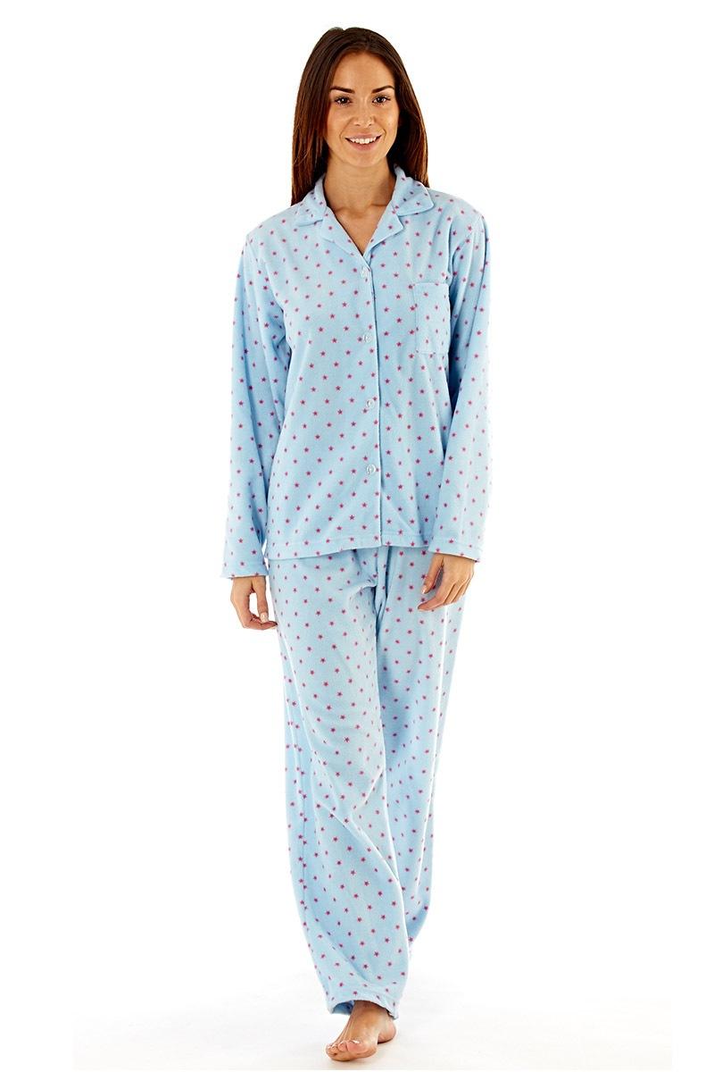 Dámské fleecové pyžamo Elena Blue