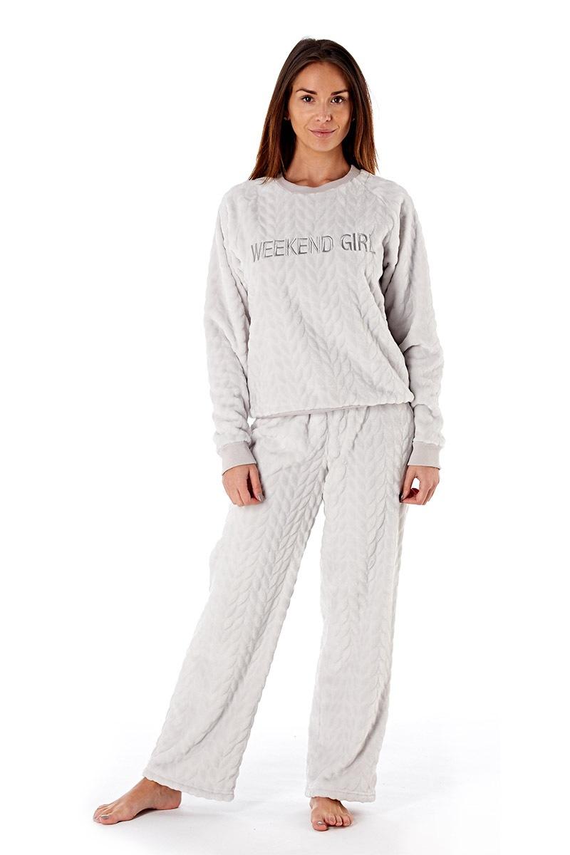 Dámské pyžamo Weekend Girl Grey