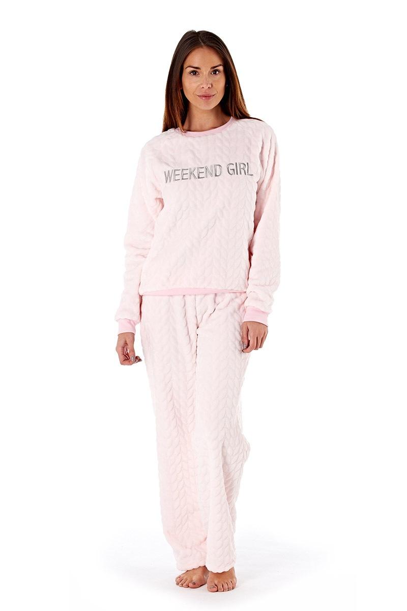 Dámské pyžamo Weekend Girl Pink