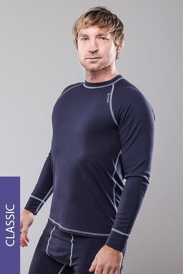 Termo triko pánské Classic - šedé