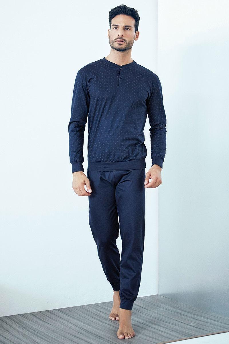 Pánské italské pyžamo Evio