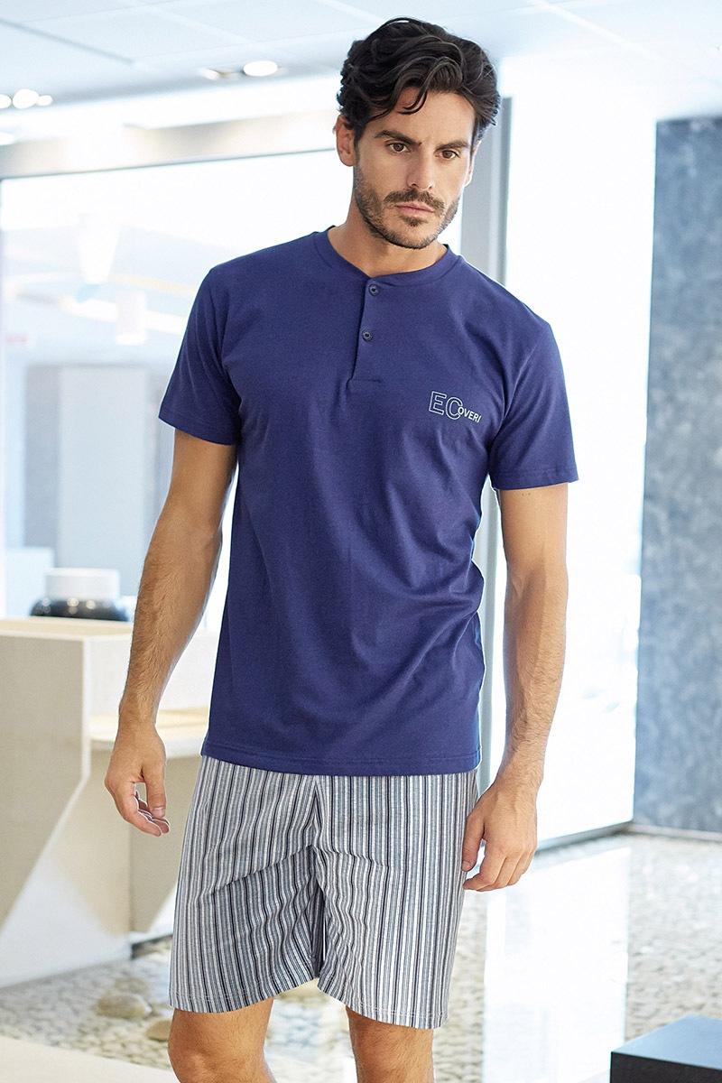 Pánské italské pyžamo Simone