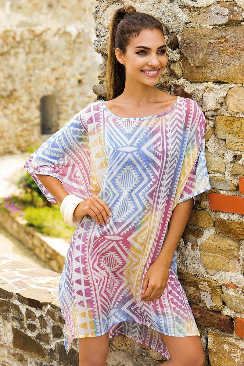 Dámské letní šaty Francesca bavlněné z kolekce Iconique