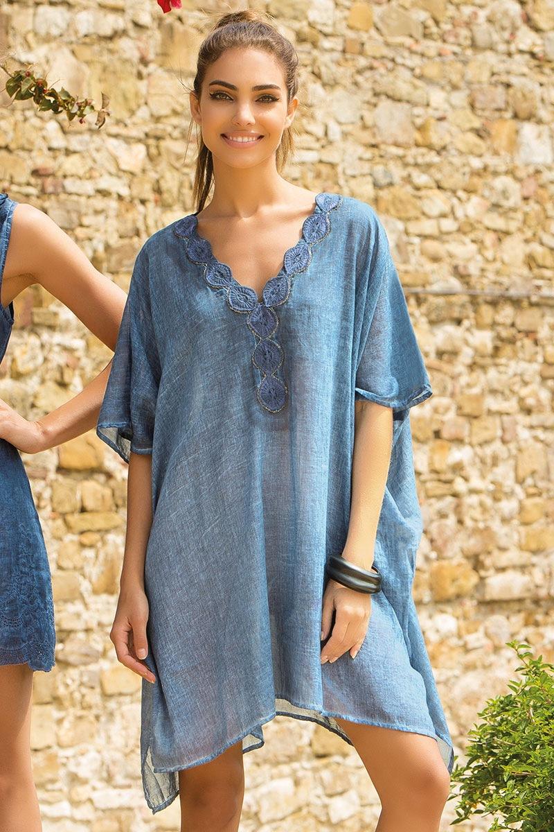 Dámské letní šaty Matilde bavlněné z kolekce Iconique