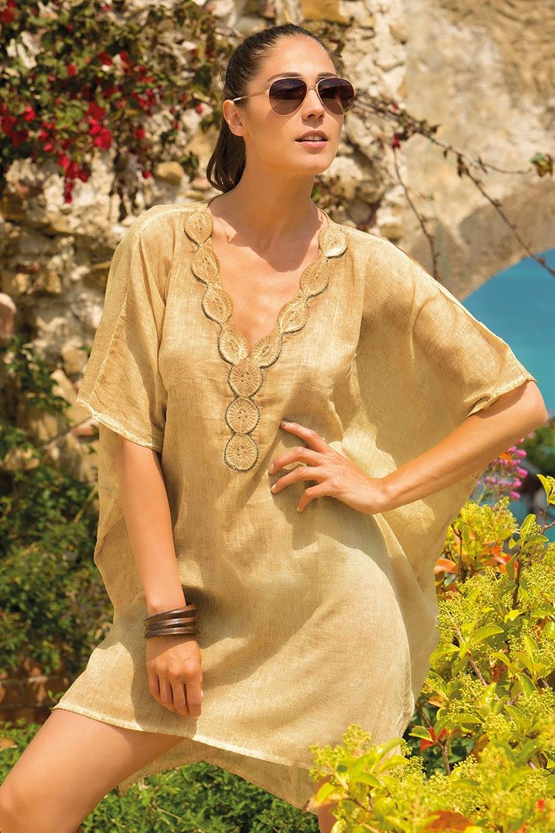 Dámské letní šaty Ginevra bavlněné z kolekce Iconique