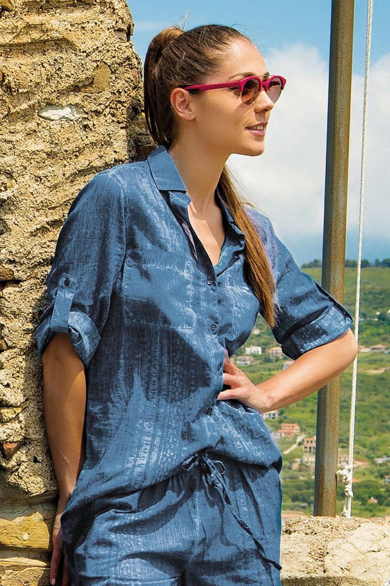 Dámské letní košilové šaty Ilaria