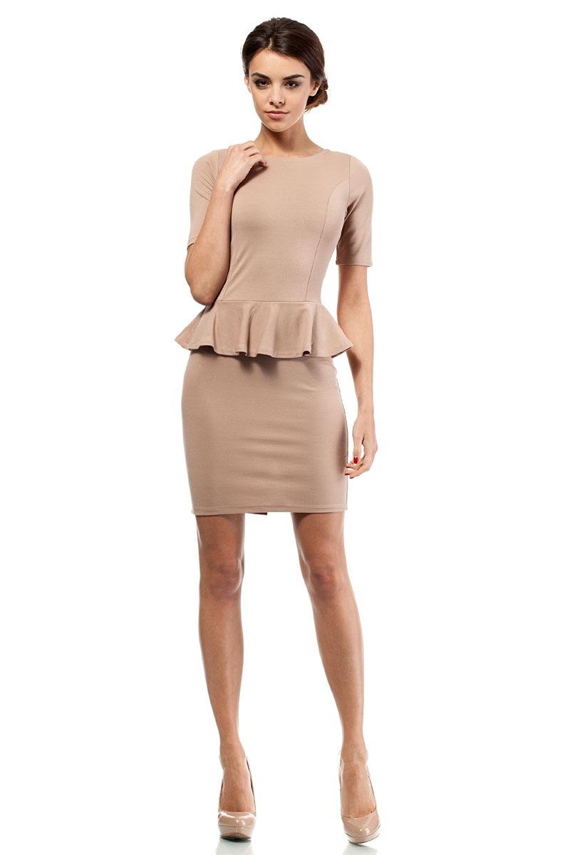 Dámské šaty s volánem Moe014