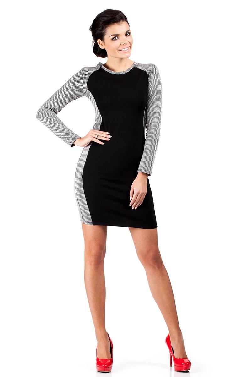 Dámské podzimní šaty 1 Moe 039