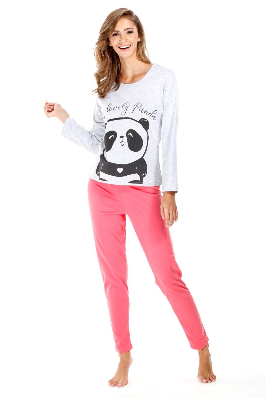 Dámské bavlněné pyžamo Panda