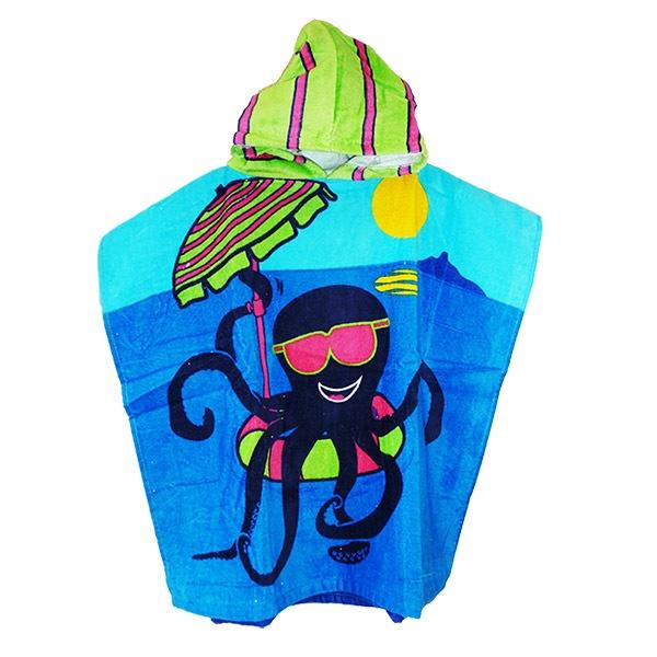 Dětské pončo Octopus