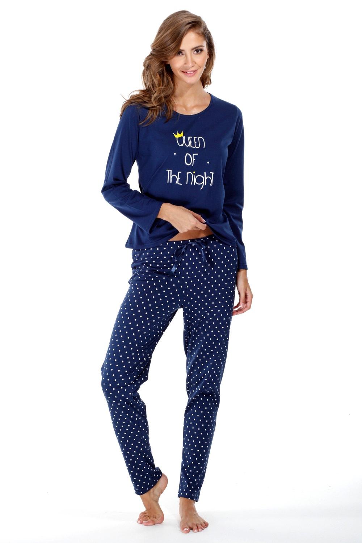 Dámské bavlněné pyžamo Queen