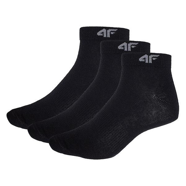 Pánské kotníčkové ponožky Black 3pack
