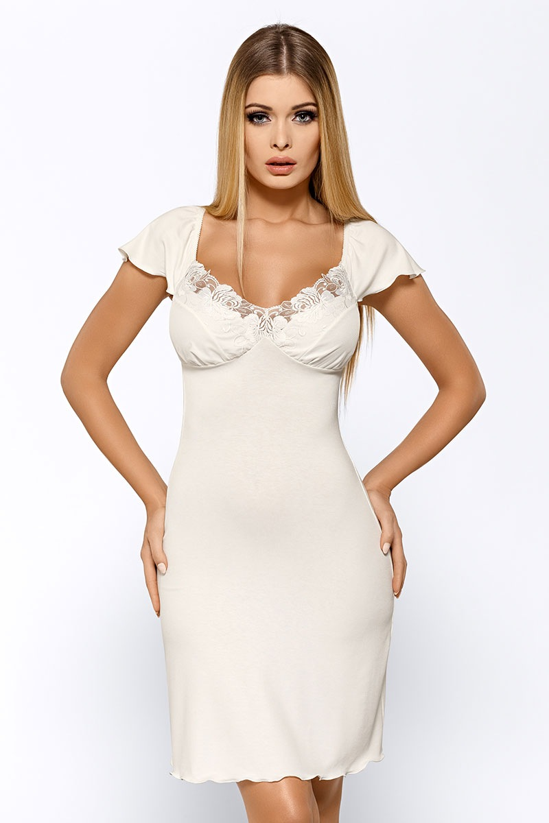 Luxusní košilka Salomea Ecru
