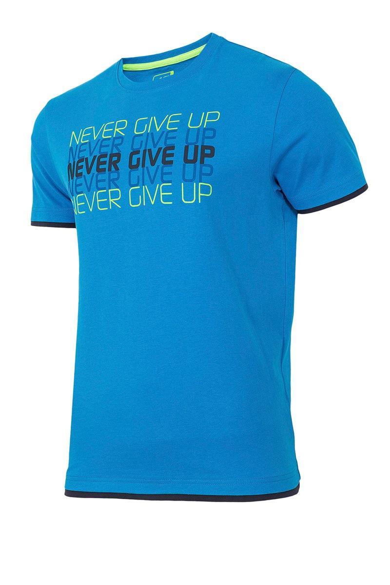 Pánské sportovní tričko Never give up