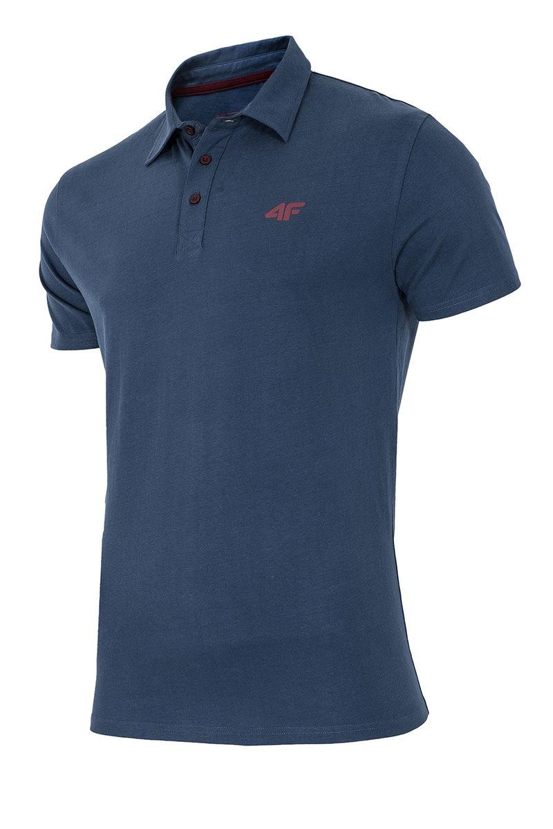 Pánské sportovní tričko s límečkem 4f