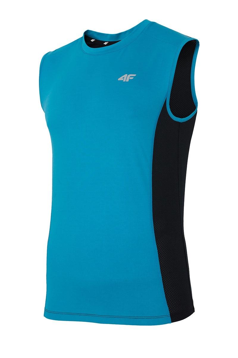 Pánské sportovní triko bez rukávů 4f Blue