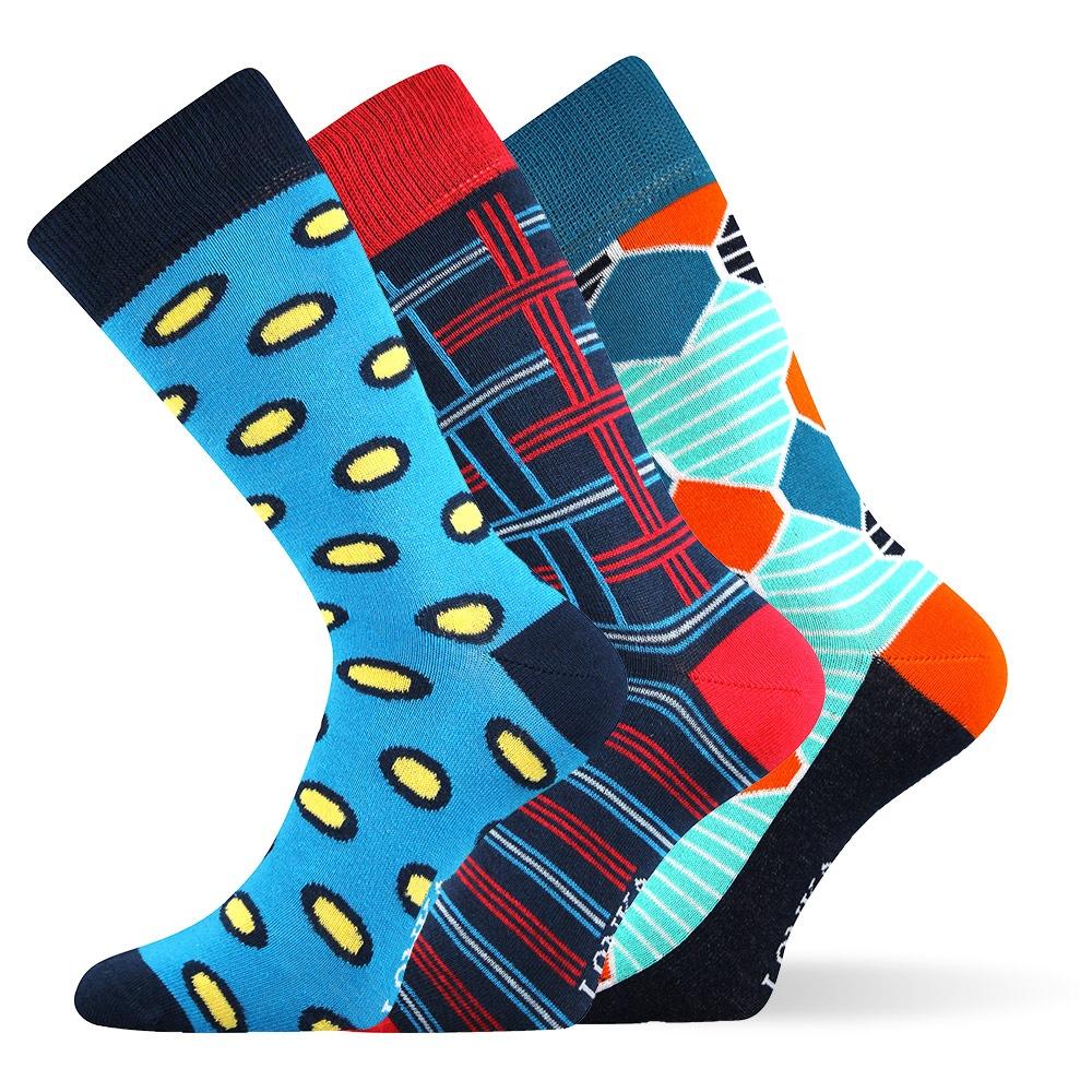 3pack módních ponožek Woodoo MixE