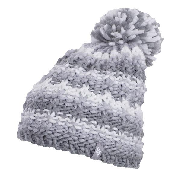 Dámská zimní čepice 4f Grey