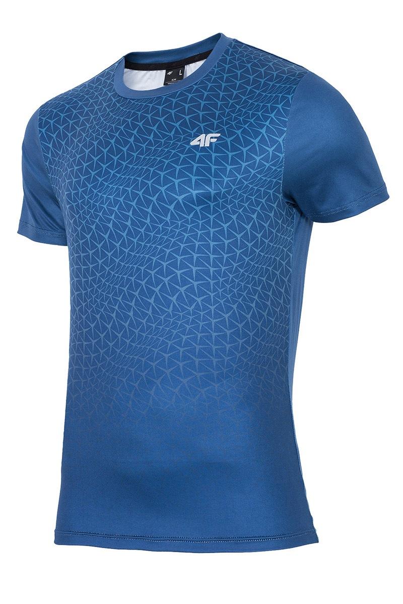 Pánské fitness tričko 4f Dynamic Blue