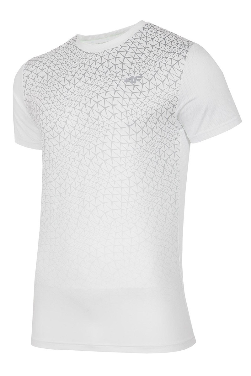 Pánské fitness tričko 4f Dynamic White