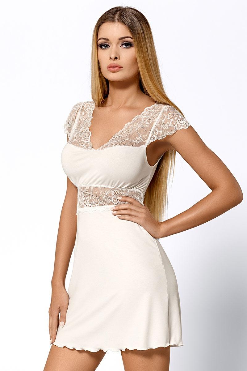 Elegantní košilka Helen Ecru