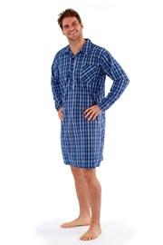 Pánská noční košile Harvey Blue Check